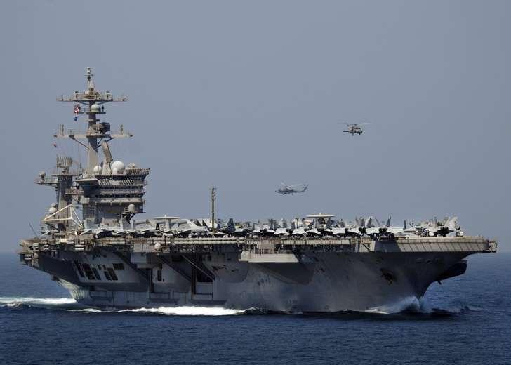 Amerykański lotniskowiec USS Carl Vinson