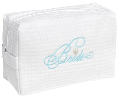Honeymoon Gifts:  Bride Cosmetic Bag @ Target -- on-line only