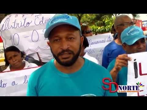 Técnicos del Distrito Escolar 10-02 de Sabana Perdida protestan y exigen...