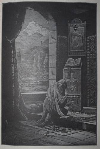 Иллюстрация 55 из 60 для Демон - Михаил Лермонтов | Лабиринт - книги. Источник: Наталья Бухтиярова