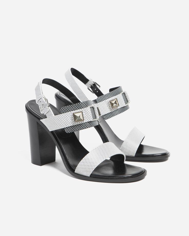 Proenza Schouler Optical PSII Heel Sandal