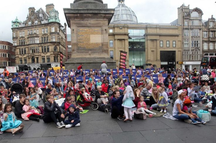 Youngsters enjoy a showing of Frozen at Monument Movies