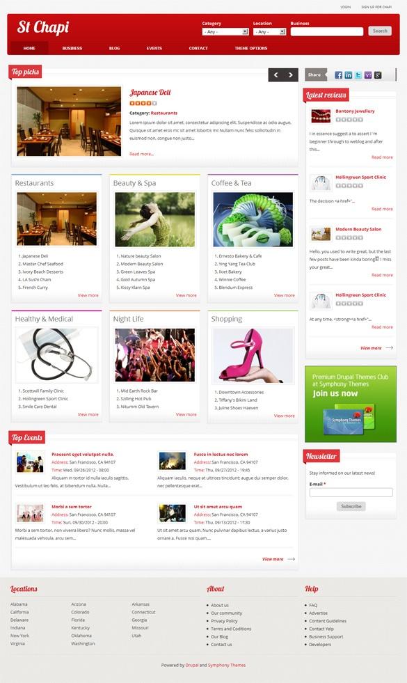 ST Chapi, Drupal Responsive Magazine Blogging Theme