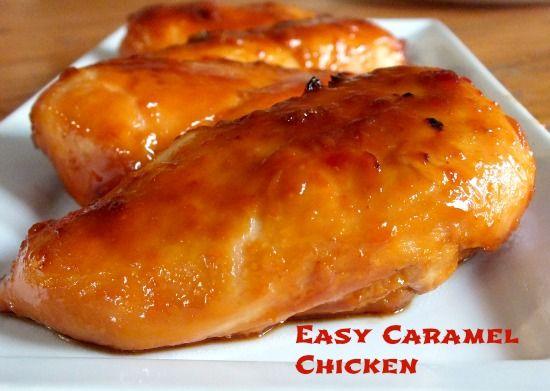 Easy Caramelized Chicken Breasts. Herkullista!