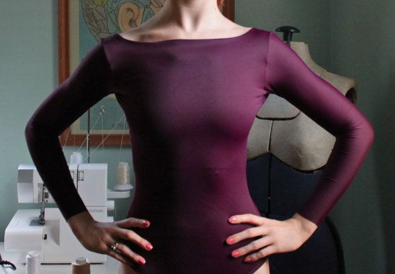 "The ""Maddie"" Leotard by Lone Reed Designs"
