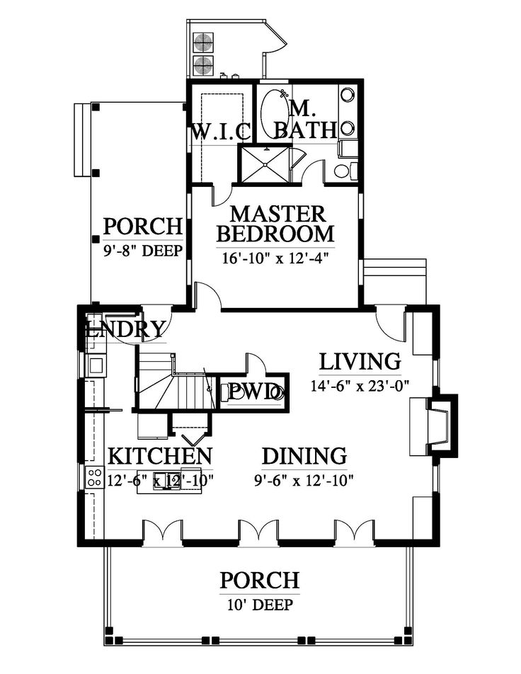 Southern living empty nester house plans house design ideas Best empty nester house plans