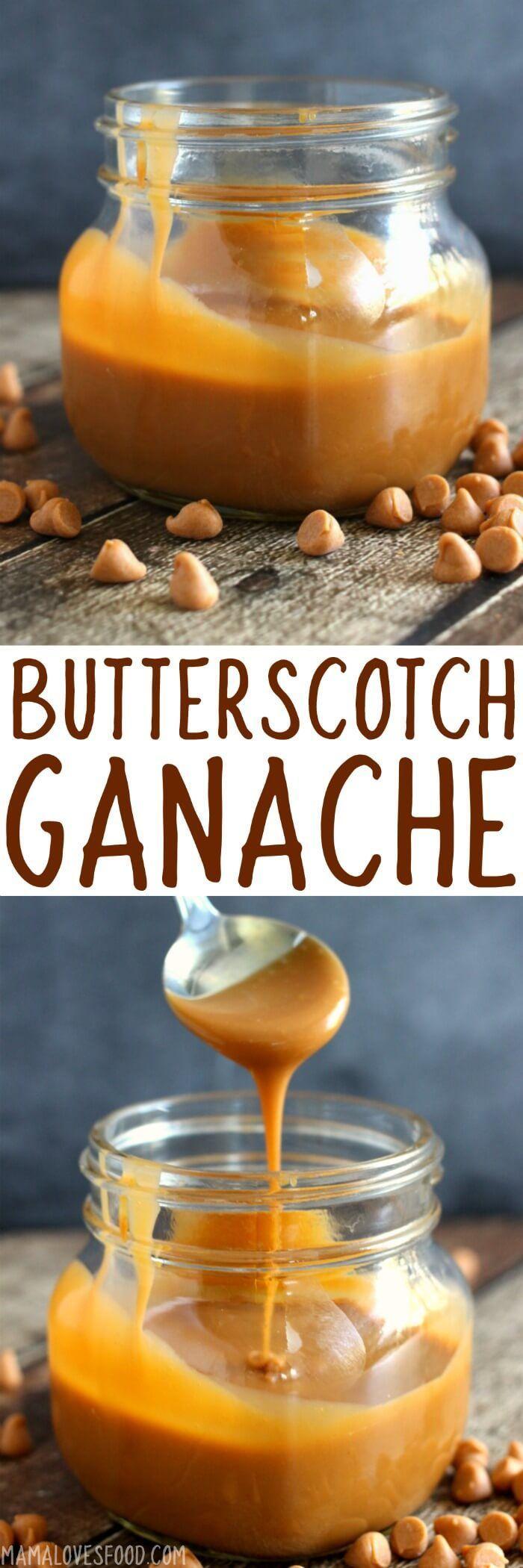OMG SOOOOOO GOOD!!! Easy Butterscotch Ganache