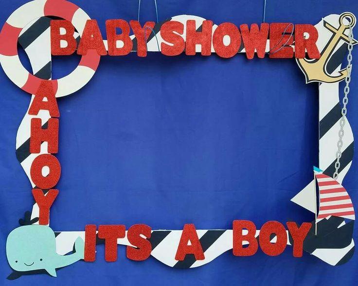 Ahoy its a boy frame