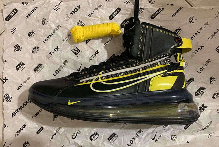 5da78ebca6e2 Leaked  Mysterious Nike Racing Lo Air Max 720 Pics Surface Knit Sneakers