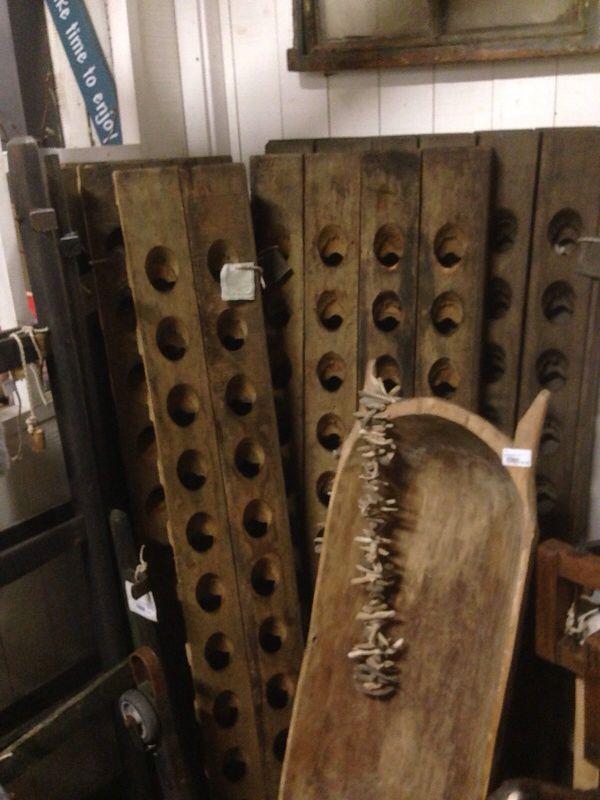 Wijnrek   Oud hout   #HetGrachtenpand  hetgrachtenpand.com