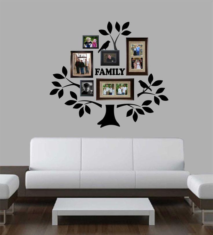 Family Photo Tree Kit Decal