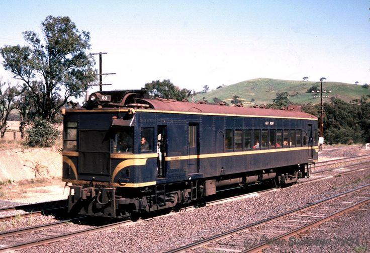 DERM travelling towards Seymour 1984
