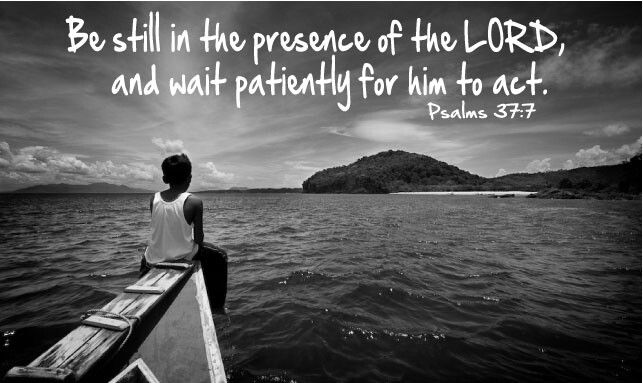 Be still...my mother taught me this when I little and we would go to church. Devote this, and any other precious time to our Lord.