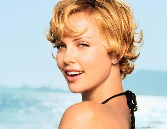 Young Charlize Theron (Photos). Celebrity Photo. Showbiz News. About Celebrities.