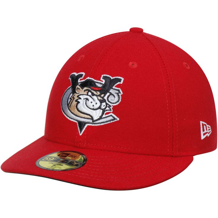 Tri-City ValleyCats New Era Home Authentic Collection On-Field Low Profile 59FIFTY Fitted Hat - Scarlet