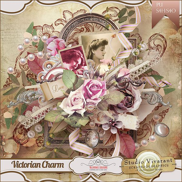 Victorian Charm {Collab Kit} with Veronica Spriggs