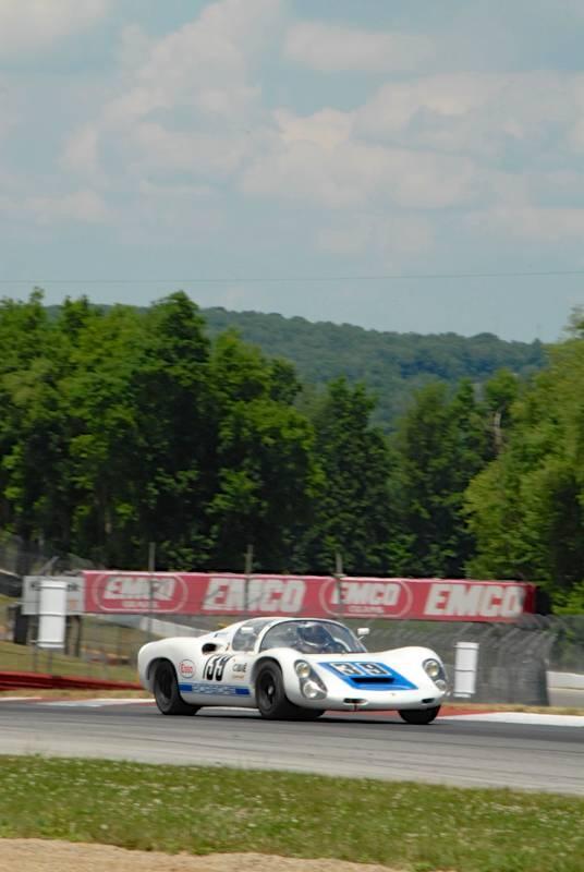 John Higgins 1966 Porsche 910 at SVRA Mid-Ohio Vintage Grand Prix 2012: Photo Galleries, 910 196667