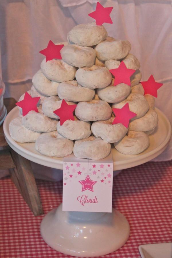 Under the Stars Birthday Party via Karas Party Ideas   KarasPartyIdeas.com #star #sparkle #stars #tween #teen #pink #girl #birthday #party #ideas (29)