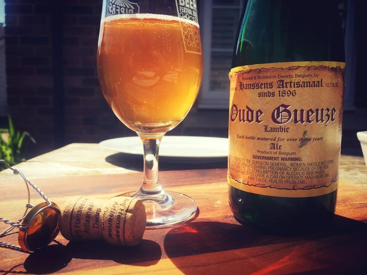 Hanssens Oude Gueuze.   A fantastic sharp, sour and not overly complex blend of (mostly Boon, Girardin and Lindermans) lambics.  Hanssens claim to be the oldest non-brewing Gueuze blenders, coming from Dworp in 1871!