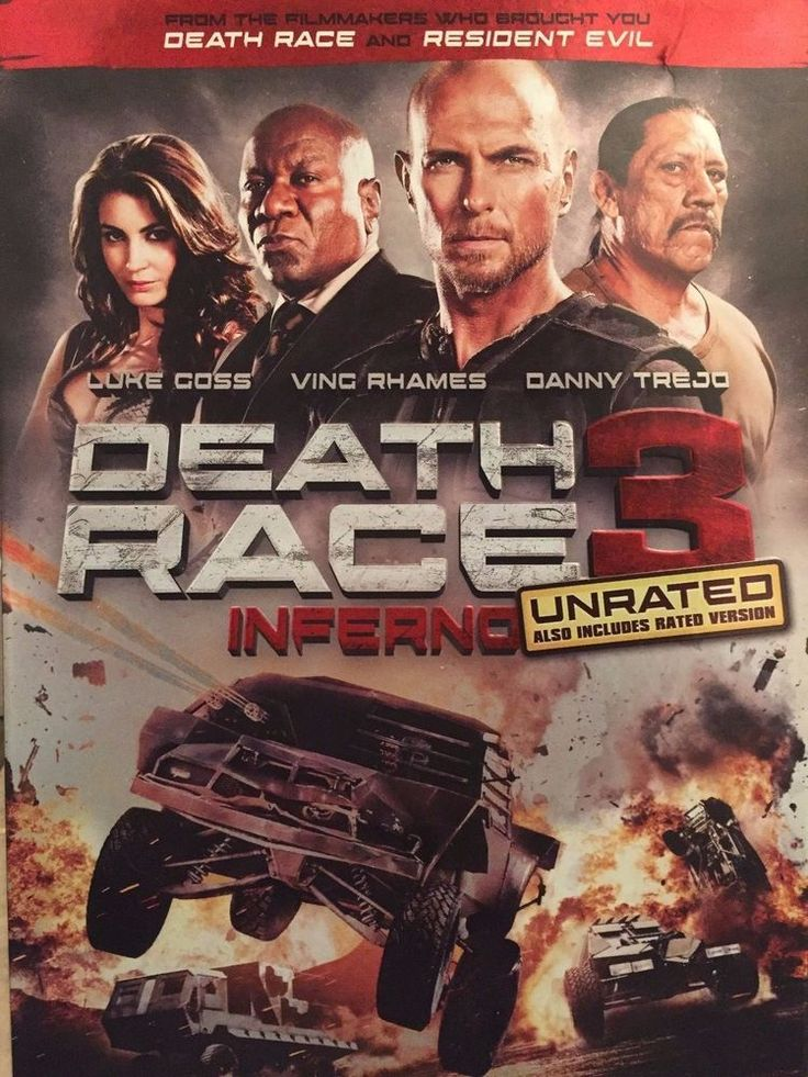 Death Race 3 Inferno, Been used but still looks new
