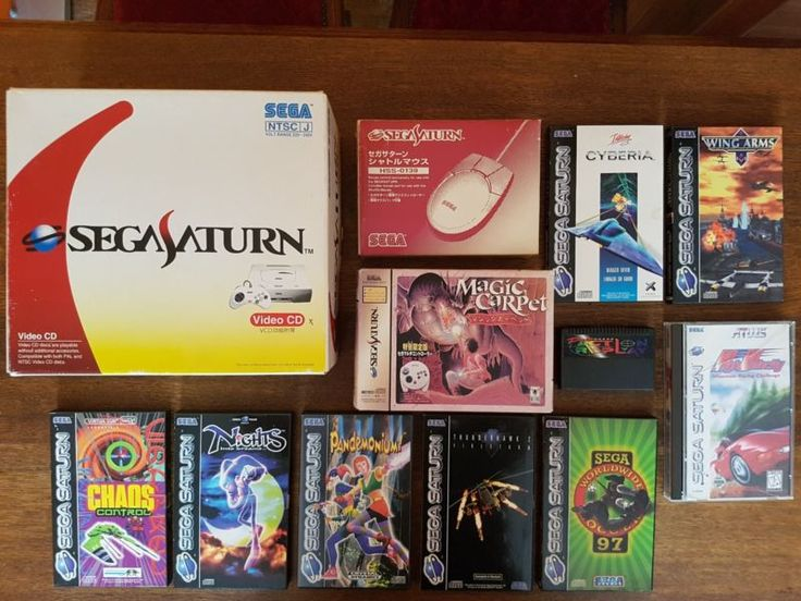 Sega Saturn Video CD Version  #retrogaming #HotSS  Really uncommon Asian Sega Saturn Console in box with latest Video CD Card included. Some games also included in the lot. BIN auction at 400 EUR from Germany offers accepted.