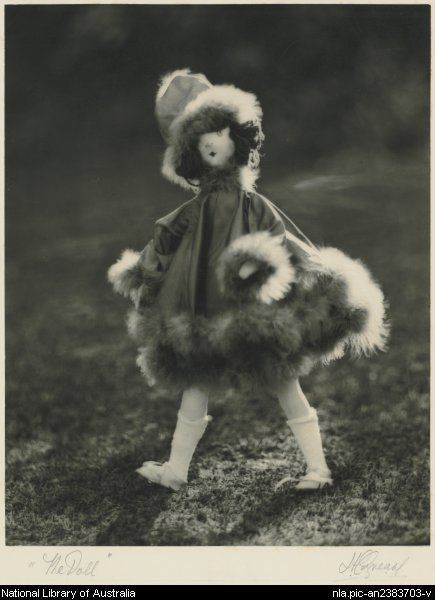 Cazneaux, Harold, 1878-1953. The doll [picture]