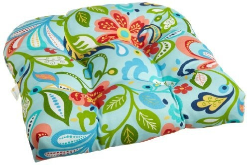 Probably too busy: Brentwood 5361 Wildwood Opel 20 by 20-Inch Outdoor Replacement Chair Cushion ...