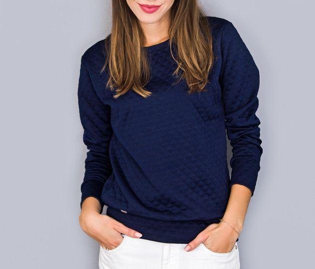 pikowana bluza - ---drops--- - Bluzy