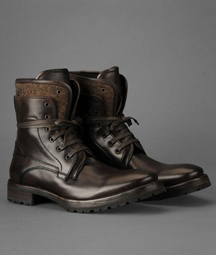 The JOHN VARVATOS Tahoe Felt Work Boot .