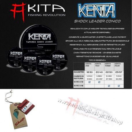 KENTA SHOCK LEADER CONICO - AKITA