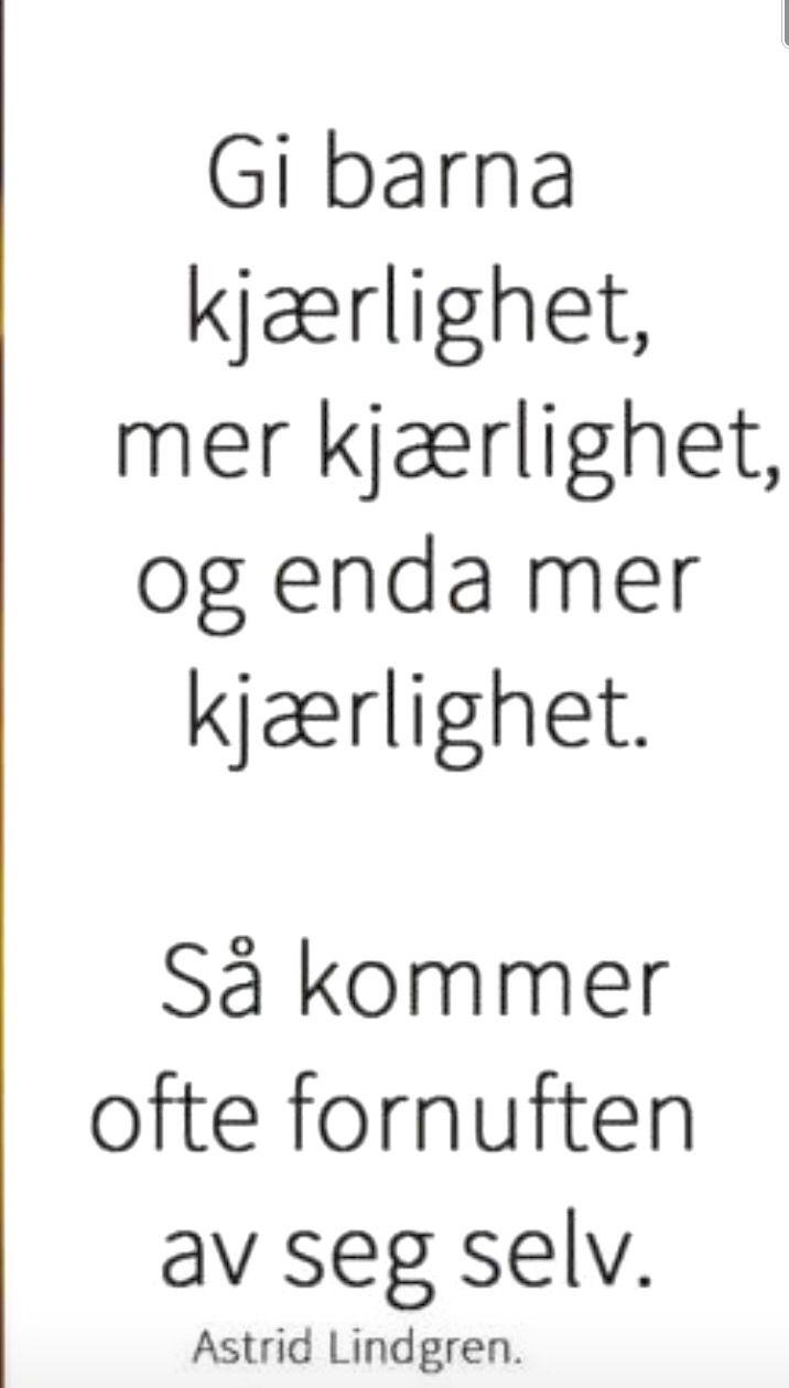 Sitat. Astrid Lindgren