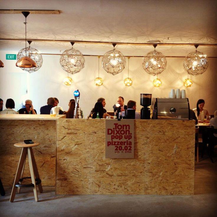 Tom Dixon Pop Up Pizzeria | Singapore  ECKMANN ECKMANN LOVE