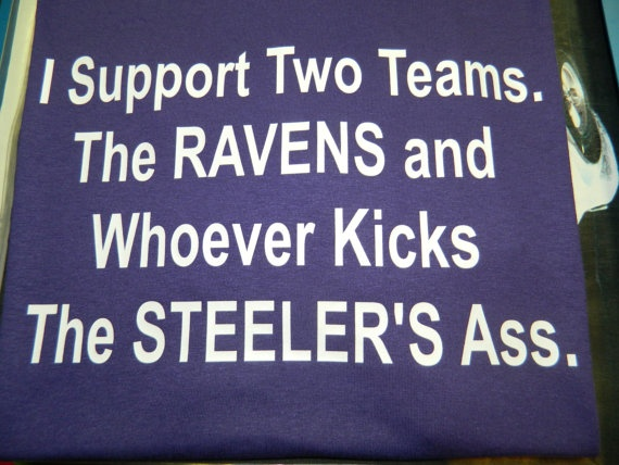 Baltimore Ravens T Shirt by tmaniaMD on Etsy, $20.00