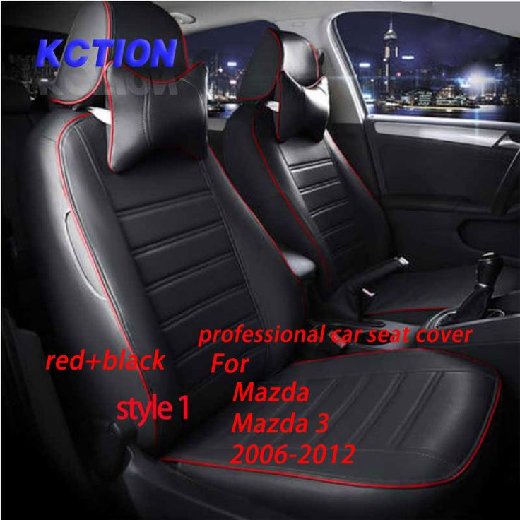 11 Colors Tailor-made Car Seat Cover for Mazda 3 (2006-2012) Composite pu Car Styling Fully Enveloped accessories Protector