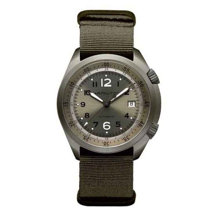 Reloj hamilton khaki pilot pioneer aluminium h80405865