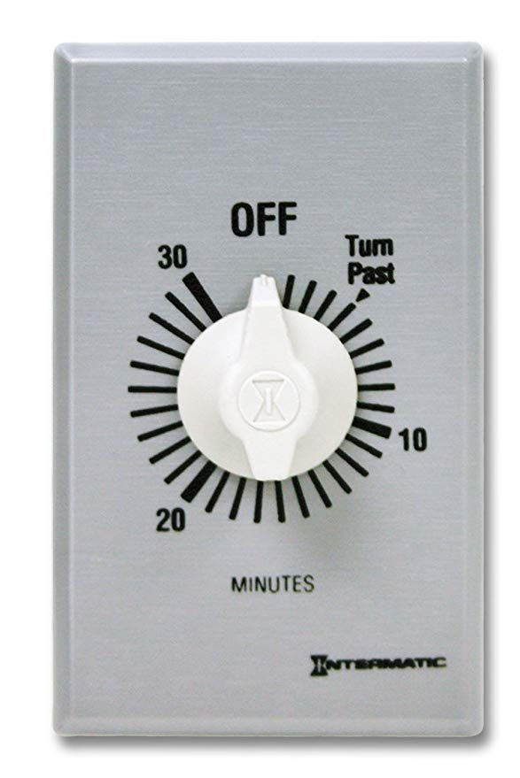 Intermatic Sw30mk 30 Minute Spring Wound Timer Gray Amazon Com Brushed Metal Timer Countdown Timer