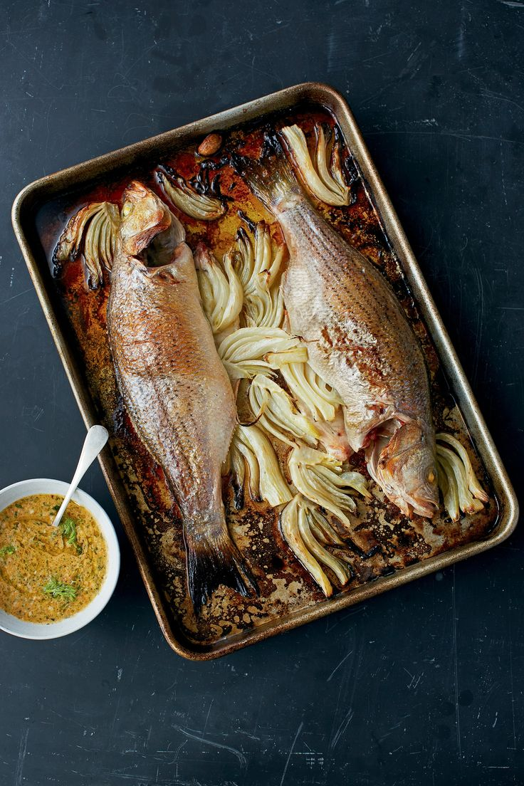 Just wanted to share this delicious recipe from Lidia Bastianich with you - Buon Gusto! STRIPED BASS WITH TOMATO PESTO