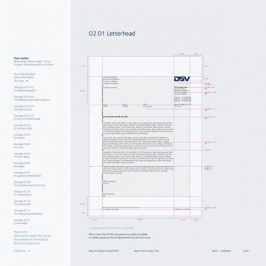 Corporate & Brand Identity - DSV, Denmark on the Behance Network