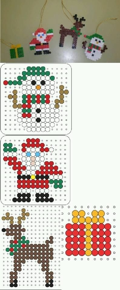 Hama bead designs for the elf to make