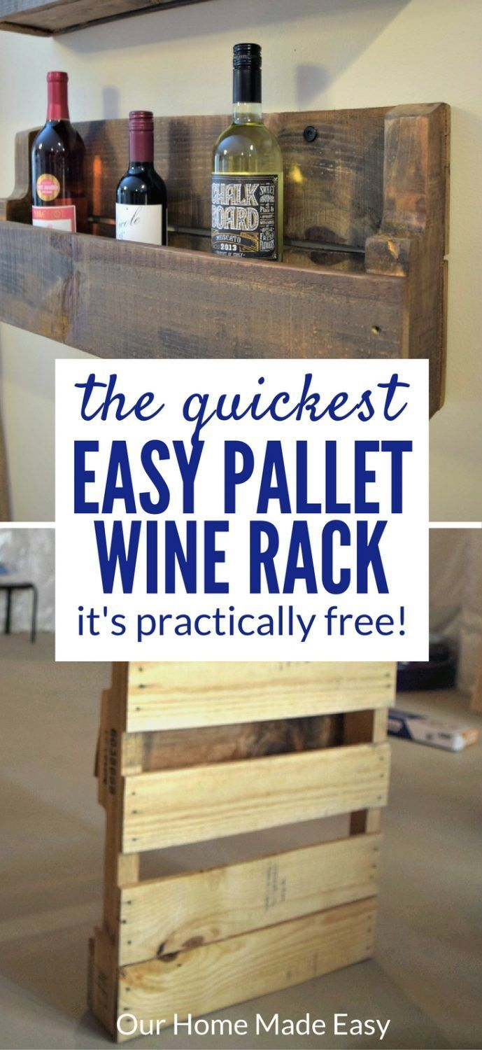 2001 best pallet projects images on pinterest pallet for How to make a wine rack out of pallet wood