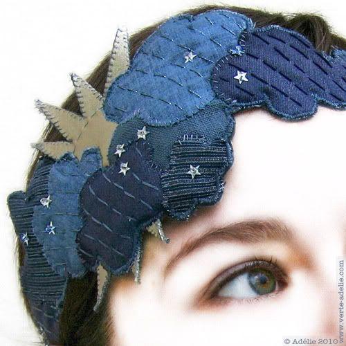 Cloud crown pour la robe couleur Temps de Loli