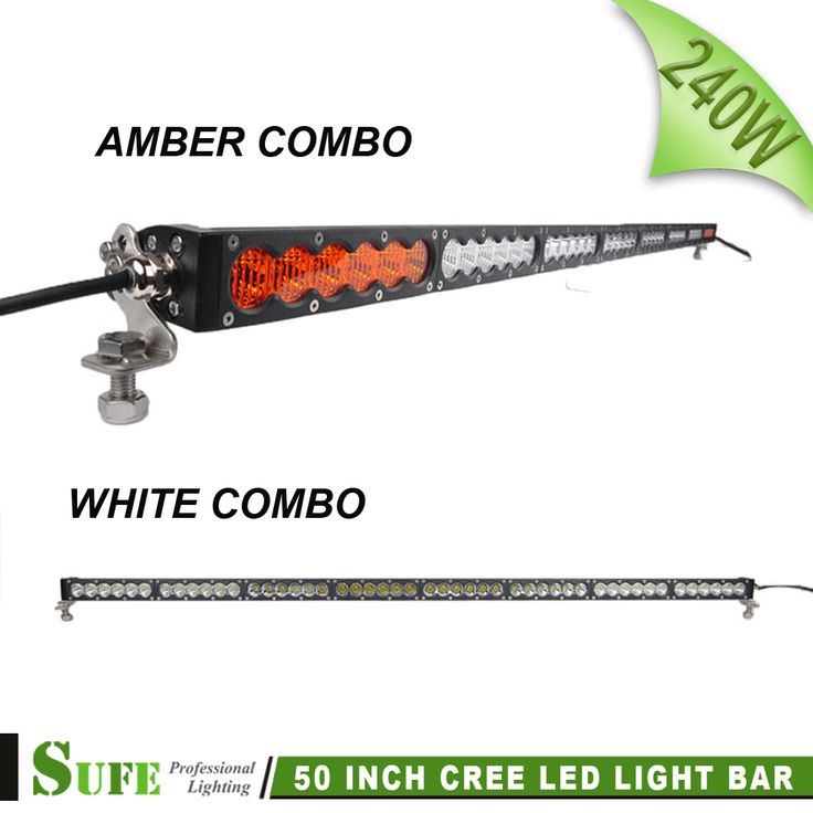 ==> [Free Shipping] Buy Best SUFE 50 inch 5W  48 240W LED Offroad Light Bar For Truck Tractor Boat SUV ATV 4WD Trailer Amber Combo Auto Driving Fog Lights Online with LOWEST Price | 32725099304