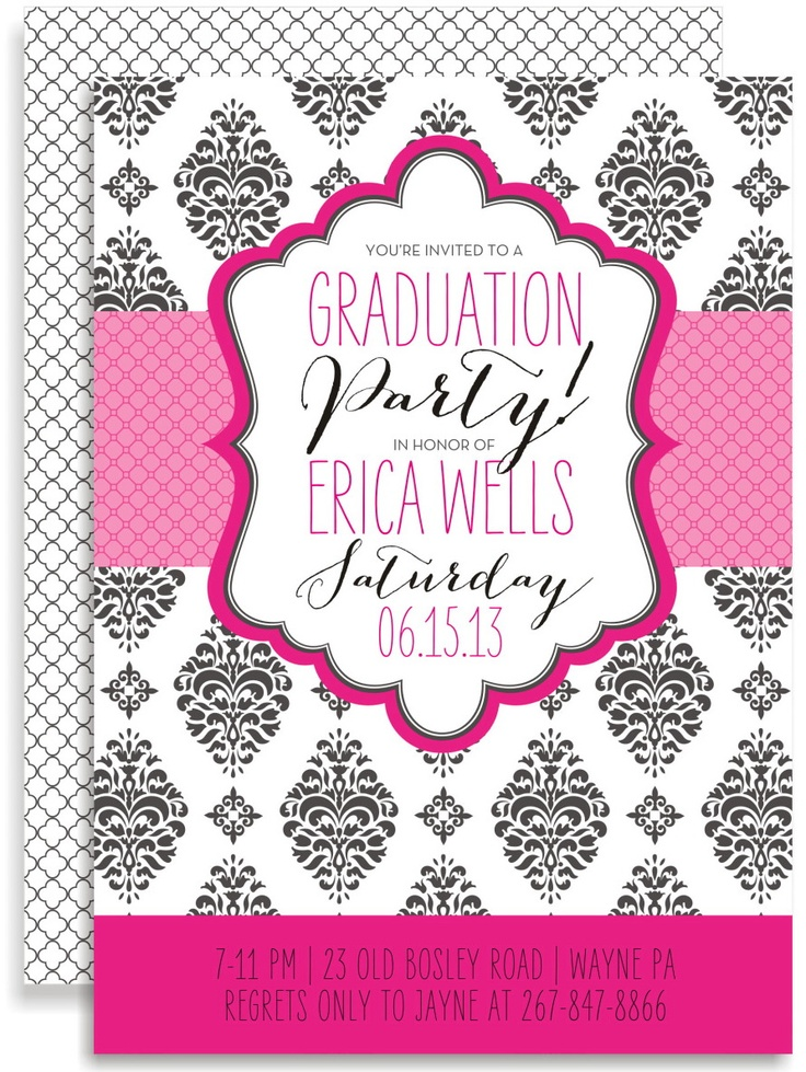 38 best Graduation invitations images on Pinterest | DIY ...