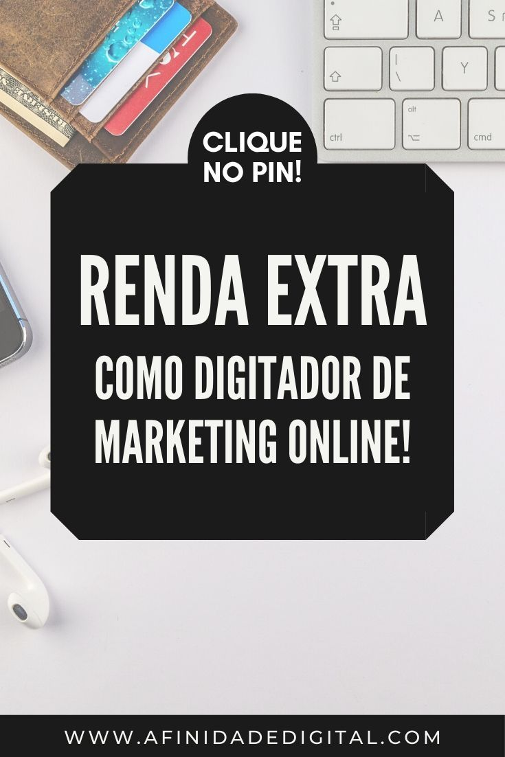 digitador de marketing online