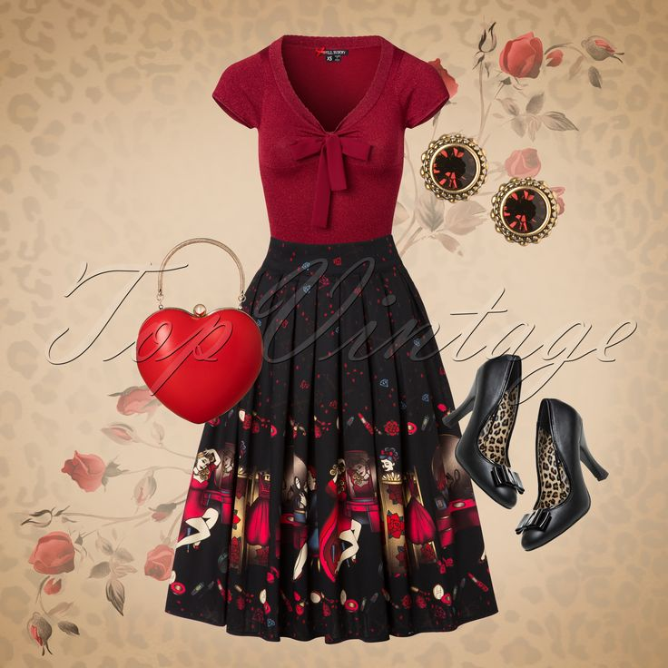 You are ready for romance in this stunning look!