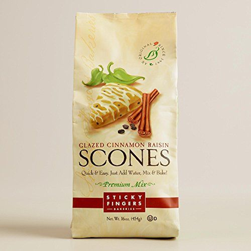 Sticky Fingers Bakeries Vanilla CinnRaisin Scone Set of 6 16 oz >>> You can get additional details at the image link.(This is an Amazon affiliate link and I receive a commission for the sales)