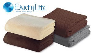 Earthlite's Microfiber Blankets make an ideal item for any spa or salon.