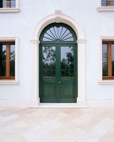 Wood Entry Door by America Italiana