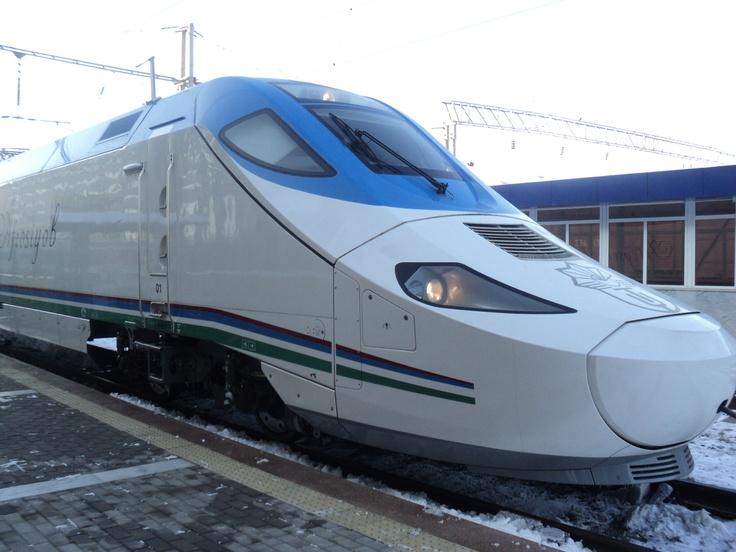 is it a cultural figure?  Tashkent Samarkand High Speed Rail