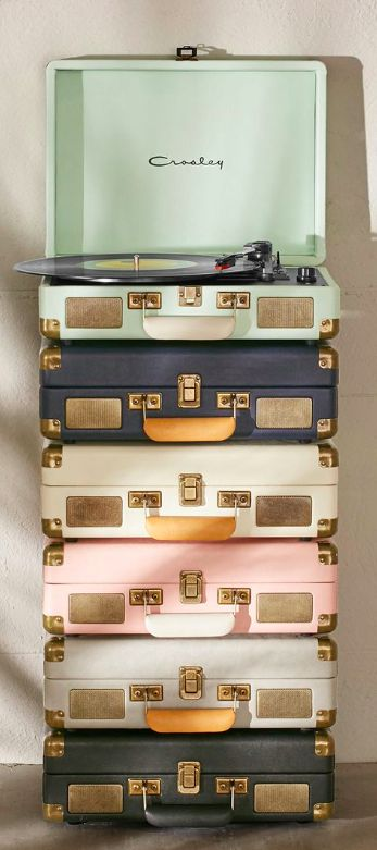 Loving all the different colors that the Crosley record players come in!  Take $20 off with code:  UOGIFTED